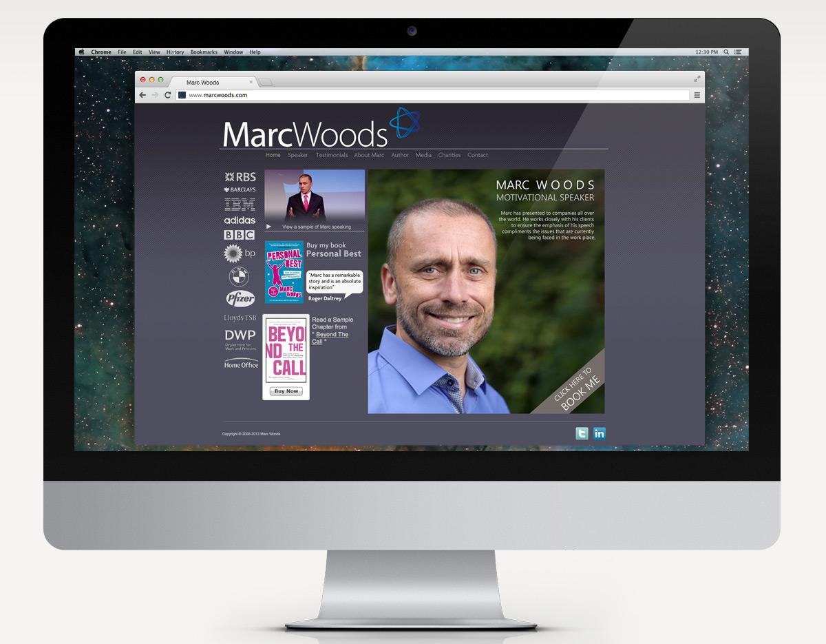 Marc Woods Motivational Speaker
