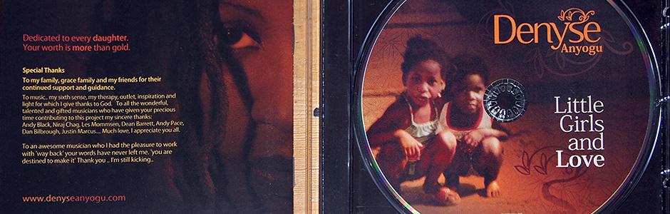 Denyse Anyogu – Little Girls and Love CD Artwork