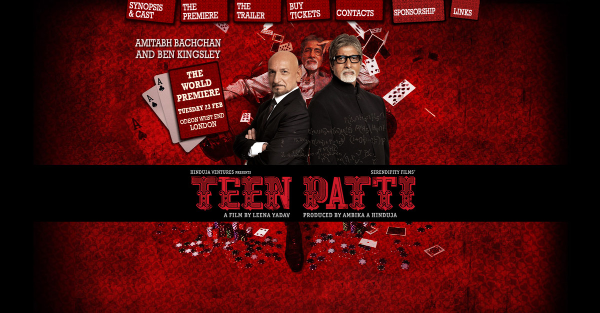 Teen Patti – Hind Film Premiere